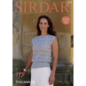 Top in Sirdar Toscana DK (7973)
