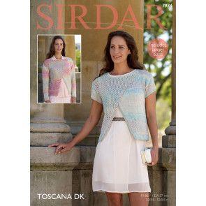Tops in Sirdar Toscana DK (7974)