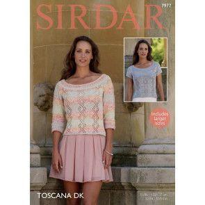 Tops in Sirdar Toscana DK (7977)