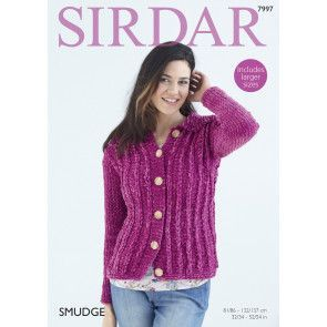 Woman's Jacket in Sirdar Smudge (7997)
