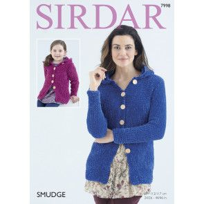 Ladies and Girls Jackets in Sirdar Smudge (7998)