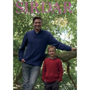 Sweaters in Sirdar No. 1 (8044)