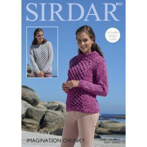 Sweaters in Sirdar Imagination Chunky (8057)