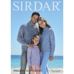 Sweaters in Sirdar Imagination Chunky (8059)