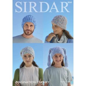 Family Accessories in Sirdar Imagination Chunky (8060)