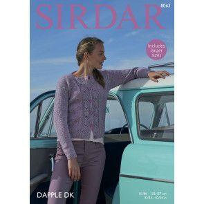 Cardigan in Sirdar Dapple DK (8063)