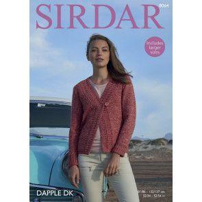 Jacket in Sirdar Dapple DK (8064)