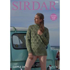 Tunic in Sirdar Dapple DK (8066)