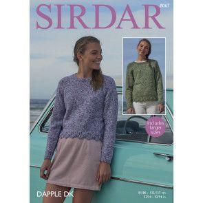 Sweaters in Sirdar Dapple DK (8067)