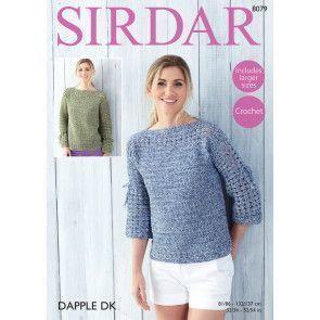 Tops in Sirdar Dapple DK (8079)
