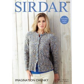 Cardigan in Sirdar Imagination Chunky (8090)