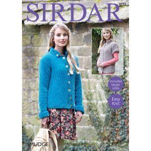 Cardigans in Sirdar Smudge (8093)