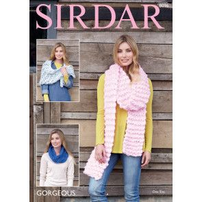 Wrap, Snood and Scarf in Sirdar Gorgeous (8096)
