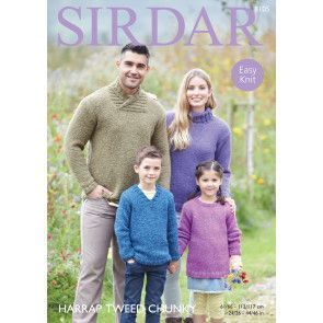 Sweaters in Sirdar Harrap Tweed Chunky (8105)