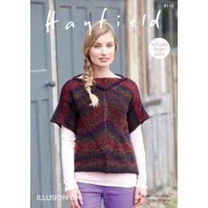 Top in Hayfield Illusion DK (8110)