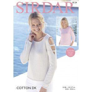 Sweaters in Sirdar Cotton DK (8124)