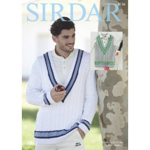 Sweater and Tank in Sirdar No. 1 (8126)