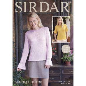 Woman's Top in Sirdar Summer Linen DK (8131)