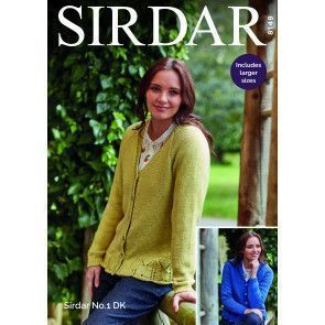 Cardigans in Sirdar No.1 (8149)