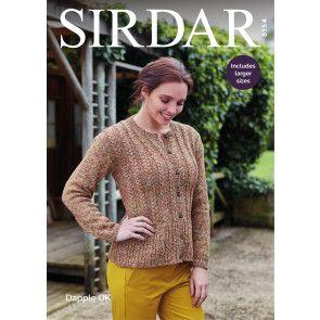 Jacket in Sirdar Dapple DK (8154)