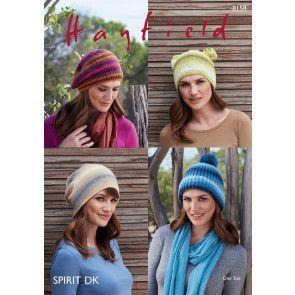 Hats in Hayfield Spirit DK (8158)