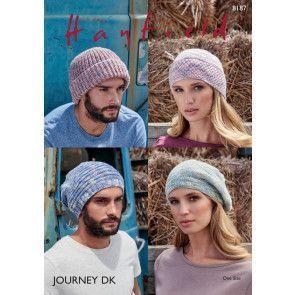 Hats in Hayfield Journey DK (8187)