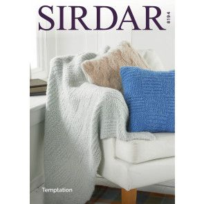 Home Accessories in Sirdar Temptation (8194)