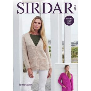 Cardigans in Sirdar Temptation (8196)