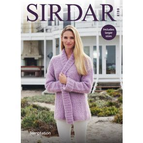 Jacket in Sirdar Temptation (8198)