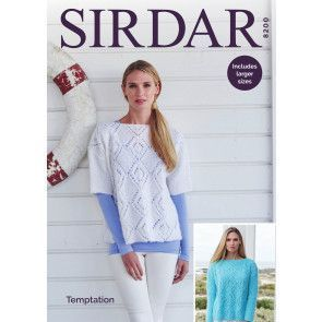 Sweaters in Sirdar Temptation (8200)