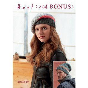 Hats in Hayfield Bonus DK (8213)