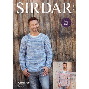 Sweaters in Sirdar Crofter DK (8221)