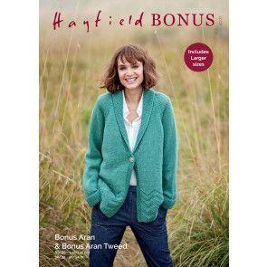Jacket in Hayfield Bonus Aran (8231)