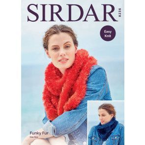 Accessories in Sirdar Funky Fur (8236)