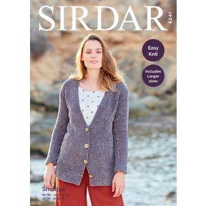 Cardigan in Sirdar Smudge (8241)