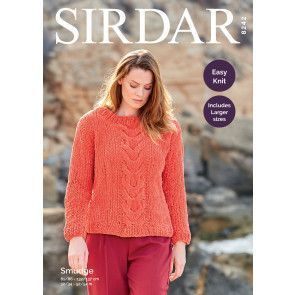 Sweater in Sirdar Smudge (8242)