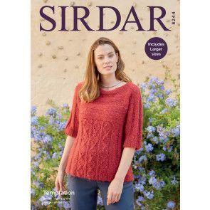Sweater in Sirdar Temptation (8244)