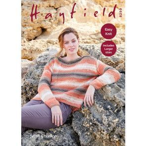Woman's Sweater in Hayfield Spirit Chunky (8250)