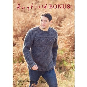Sweater in Hayfield Bonus Chunky (8293)