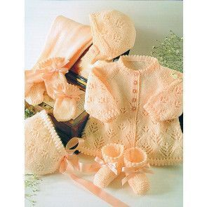 Pram Set in Stylecraft Wondersoft 4 Ply (4108)