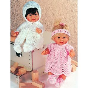 Dolls Outfits Stylecraft Wondersoft DK (4538)