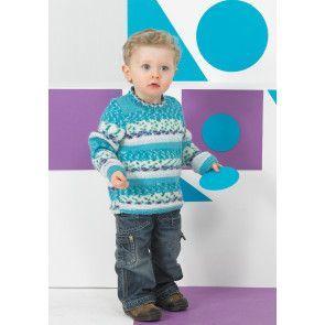 Sweaters in Stylecraft Wondersoft DK and Wondersoft DK Prints (8752)