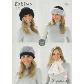 Hats and Scarves in Eskimo (8886)