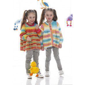Sweater and Cardigan in Stylecraft Wondersoft Merry Go Round DK (8969)