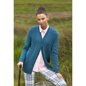 Cardigan and Waistcoat in Stylecraft Life DK (9027)