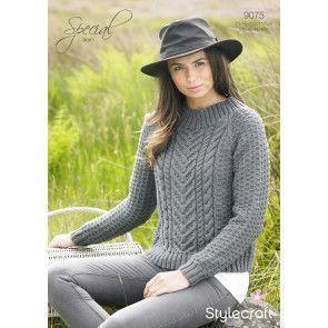 Sweater in Stylecraft Special Aran (9075)