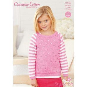 Sweaters in Stylecraft Classique Cotton DK (9135)