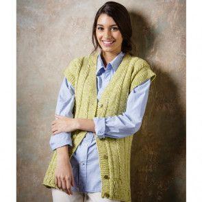 Sweater and Waistcoat In Stylecraft Batik DK (9291)