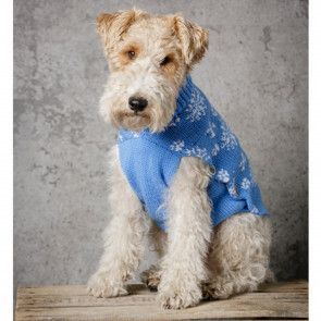 Snowflake Dog Jacket in Stylecraft Special DK (9311)