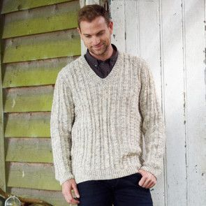 Sweater and Cardigan in Stylecraft Special Aran with Wool (9341)